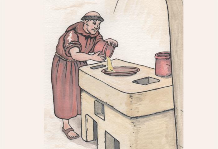 arch ologie des cr pes bretonnes mus e de l 39 ancienne abbaye de land vennec. Black Bedroom Furniture Sets. Home Design Ideas